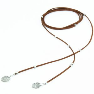 9000 1042 veterketting_choker_wrap_beads_coins